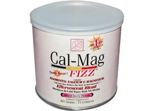 Cal-Mag Fizz, Mixed Berry Flavor, Calcium & Magnesium Supplements, 492 Grams, Cal Mag Fizz, From Baywood