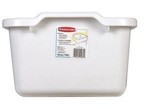 Rubbermaid 2970ARWHT 15.6-Quart Dishpan Organizer