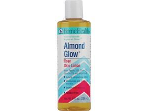 Almond Glow Lotion-Rose - Home Health - 8 oz - Lotion