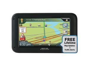 "MAGELLAN 5.0"" Truck GPS Navigation w/ Lifetime Traffic Alert & Map Update"