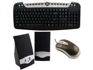 AXIS 815825012011 Axis Computer Kit Multimedia Speakers USB Keyboard and USB Mou