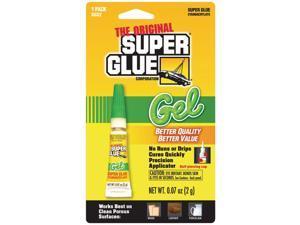 SUPER GLUE SGG2-12 Thick Gel Super Glue Tube Single Pack
