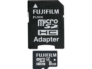 FUJIFILM 600008952 8GB Class 4 MicroSDHC Card