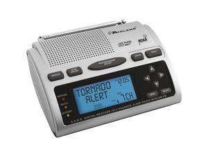Midland Radio WR300 Emergency Weather Radio with AC Adapter