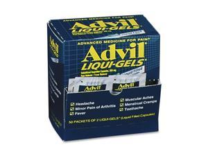 Acme United Corporation ACM016902 Advil Liqui-Gels- Single Dose Med Pack- 2-PK