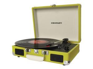 Crosley CR8005A-GR Cruiser Portable Turntable (Green)