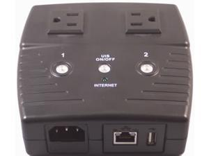 Two Outlet Remote AC-Power Controller