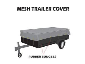 Mighty Products MT-TT-0620 Utility Trailer Mesh Cover 6-Foot x 20-Foot