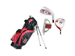 Merchants of Golf 61310 3 Piece Red Zone Jr Tube Golf Set Rh Ages 5-7