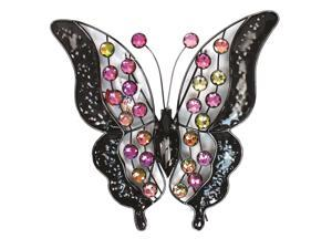 Very Cool Stuff MBB13 Rainbow Bling Butterfly Wall Art