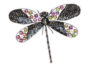 Very Cool Stuff MBD16 Rainbow Bling Dragonfly Wall Art