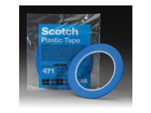 3M 6405 1/4-in. x 36-yard Blue Vinyl Painter's Tape