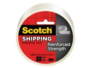 3m 8950-30 1.88in X 90in Clear White Scotch Strapping Tape
