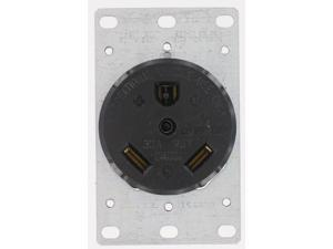 Trailer Receptacle LEVITON MFG Receptacles and Switches 7313 078477259658