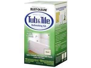 Rustoleum 7861-519 Tub and Tile Refinishing Kit, Almond
