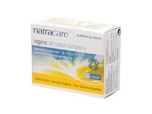 Tampons, Regular Organic - Natracare - 10 - Count