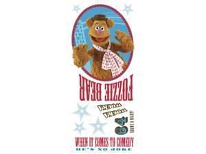 RoomMates RMK1810GM Muppets Fozzie Peel and Stick Giant Wall Decal