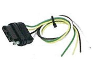 Hopkins 48015 4-Wire Flat Connector Vehicle To Trailer Wiring Connector