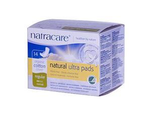 Natural Ultra Pads With Organic Cotton Cover With Wings - Natracare - 14 - Pad