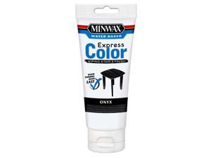 Minwax 30808 Onyx Water Based Express Color Wiping Stain and Finish