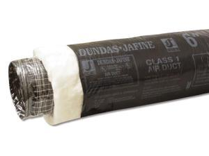 Dundas Jafine BPC625 6-inch x 25-foot Black Flexible Insulated Ducting Jacket