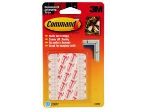 3M 17020 Command Mini Refill Strips 12 strips