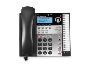 ATT 1070 Business Phone Sys. w/CID/CW 4-Line Expandable BK/WE
