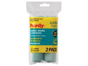 PURDY 140624040 Mini Paint Roller Cover,4-1/2 In,PK2