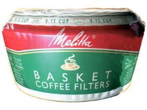 Melitta 629524 Basket Coffee Filters - 200-Pack