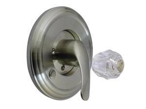 Kingston Brass KT698DT Tub & Shower Trim Kit Fits Delta Tub & Shower Faucet, Sat