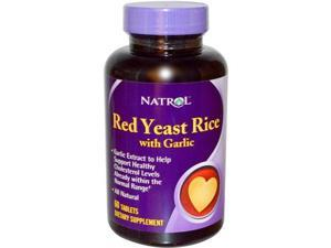 Red Yeast Rice With Garlic 60 Tablets