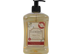 A La Maison 702886 French Liquid Soap White Tea 16.9 Fl Oz