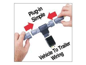 Hopkins 43315 Plug-In Simple Vehicle To Trailer Wiring Connector