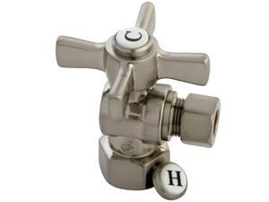 "Kingston Brass CC43108ZX Millennium 1/2"" FIP X 3/8"" OD Compression Angle Valve,"
