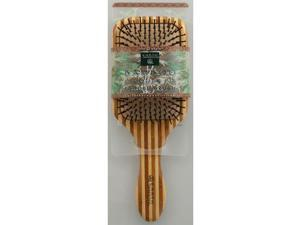 Earth Therapeutics 1019488 Large Bamboo Lacquer Pin Paddle Brush - 1 Brush