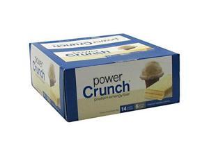Power Crunch 248476 Bar, French Vanilla Cream, 1.4 oz. - Box of 12 Bars