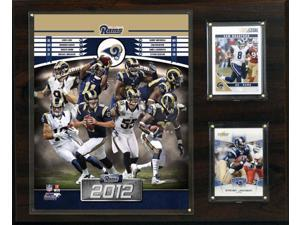 C and I Collectables 1215RAMS12 NFL St. Louis Rams 2012 Team Plaque