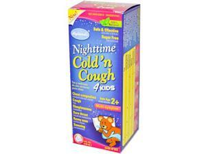 Hyland's Cold 'n Cough, 4 Kids, Nighttime, Multi-Symptom, 4 oz.