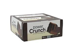 Power Crunch 248542 Power Crunch Bar Triple Chocolate Case Of 12 1.4 Oz