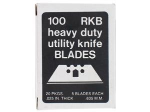 Allway Tools RKB100 100 Count 3 Notch Utility Knife Blades