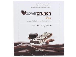 Power Crunch 1499813 Protein Bars Chocolate Brownie Wonder 40 gram Case of 12