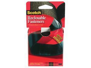 3m 1in. X 48in. Black Scotch Reclosable Fasteners  RF7741