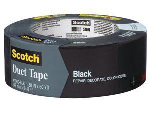 3m 1060-BLK-A 1.88 inch X 60 Yards Black Scotch Duct Tape
