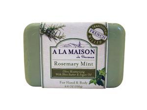 A La Maison 844753 Bar Soap Rosemary Mint 8.8 Oz
