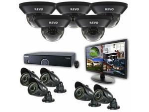 REVO America R165D5GB5GM21-4T 16-Channel 4TB 960H DVR Surveillance System with 1