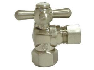 Kingston Brass CC44402 1/2in IPS 1/2in O.D. Compression Angle Shut-off Valve Pol
