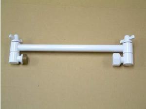 "Kingston Brass K153A6 10"" High-Low Adjustable Shower Arm"