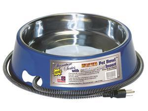 Farm Innovators Inc - Pet SB-40 Heated Pet Bowl With Stainless Steel Insert