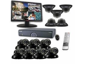 REVO America R165D5GT7GM23-8T 16-Channel 8TB 960H DVR Surveillance System with 1