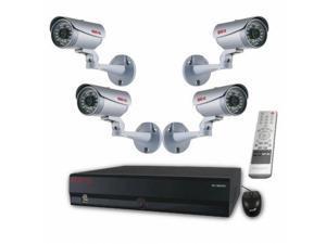 REVO America RH161B4C-2T 16-Channel HD 2TB NVR Surveillance System with built-in